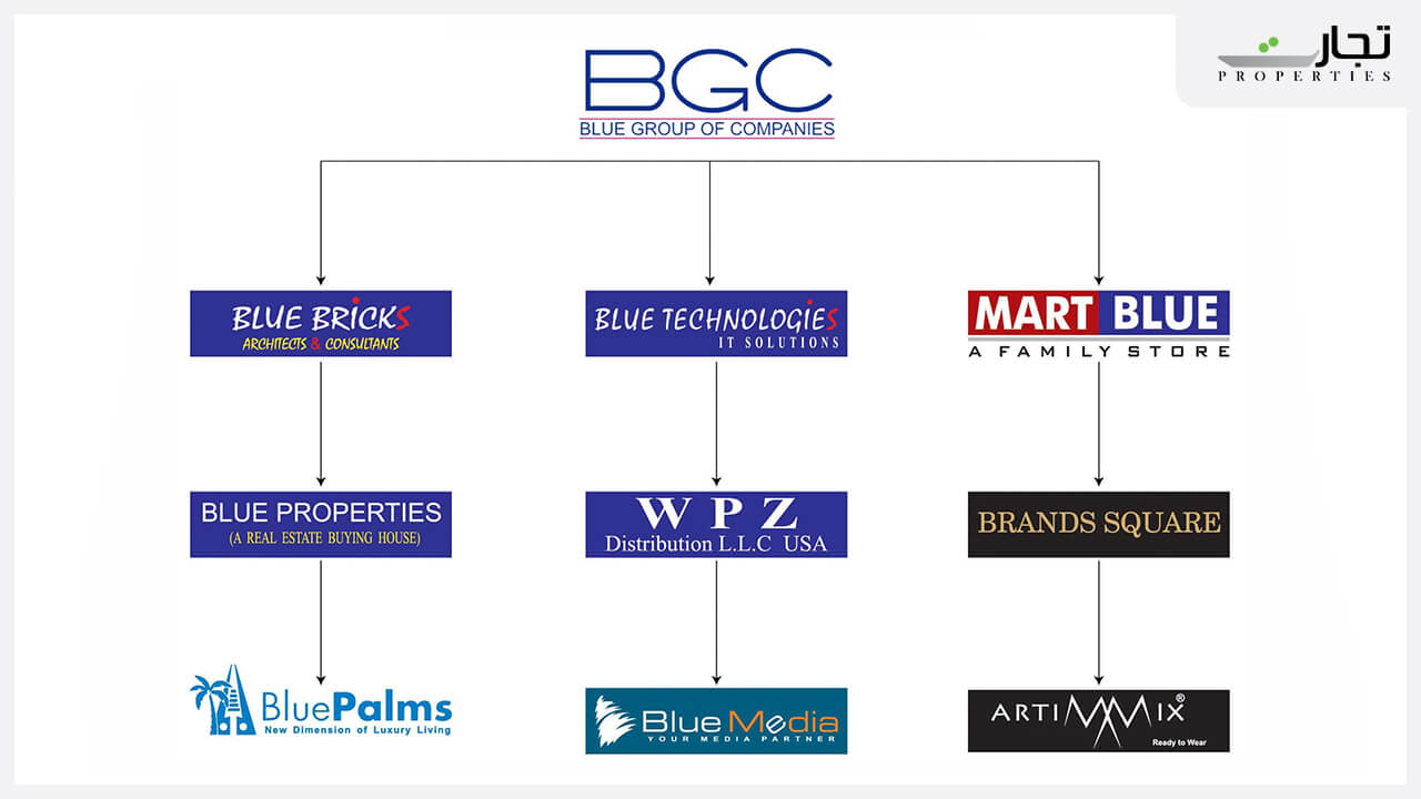 Blue Group Of Companies Project