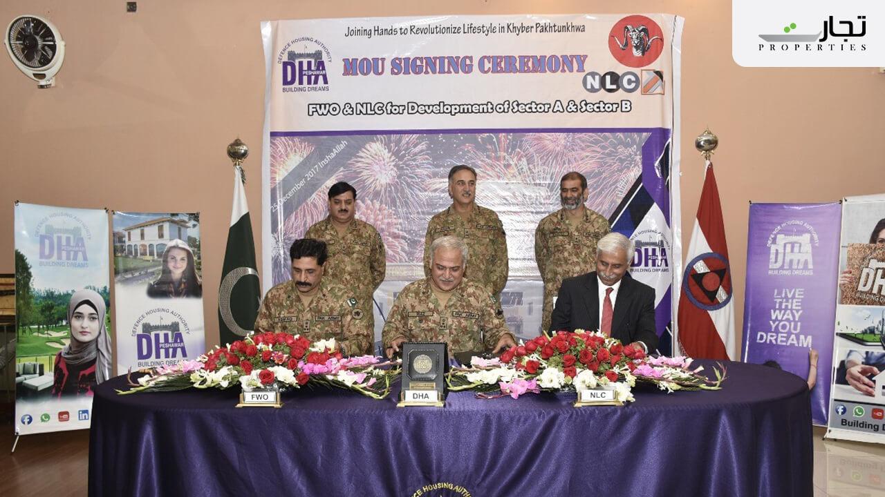 Developers of DHA Peshawar
