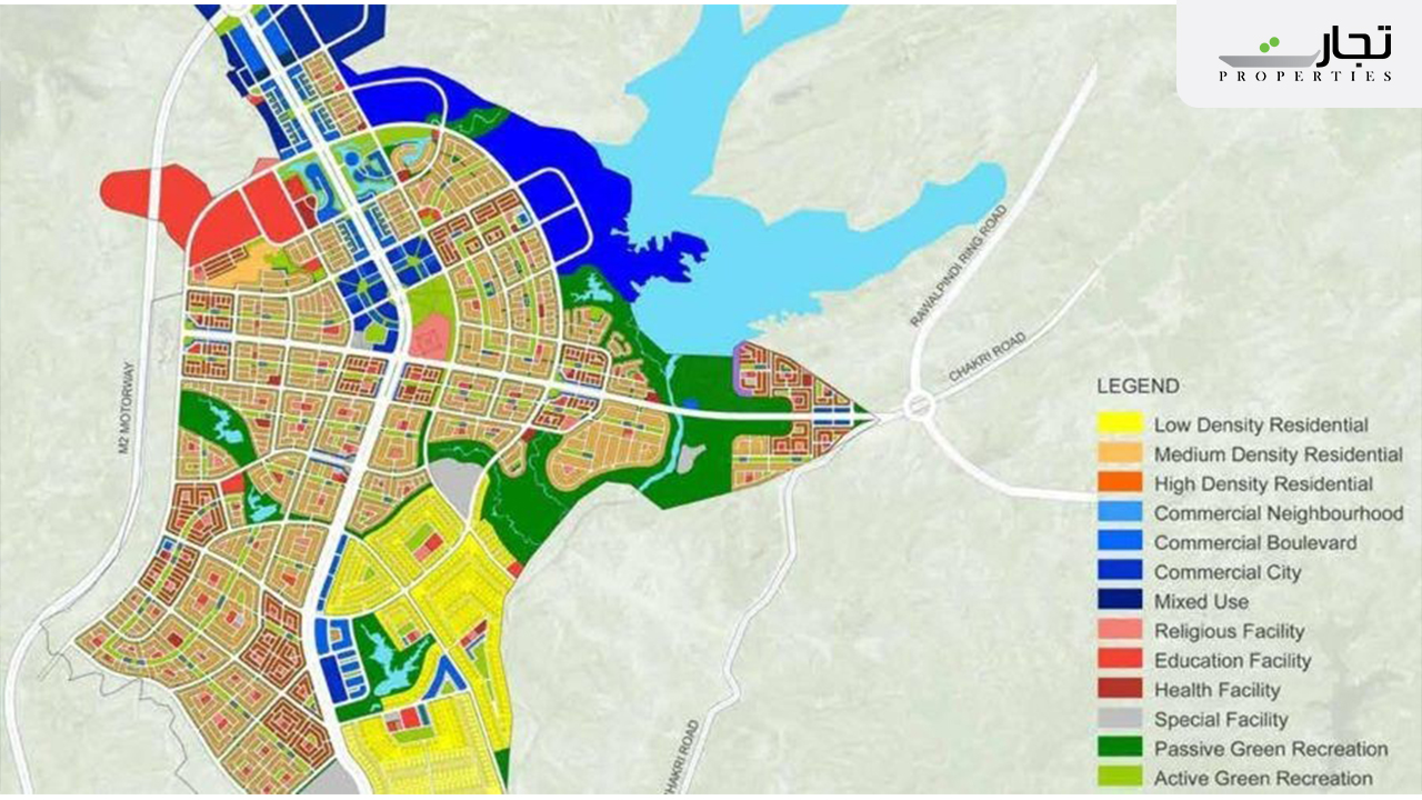 Residential area Capital Smart City Islamabad