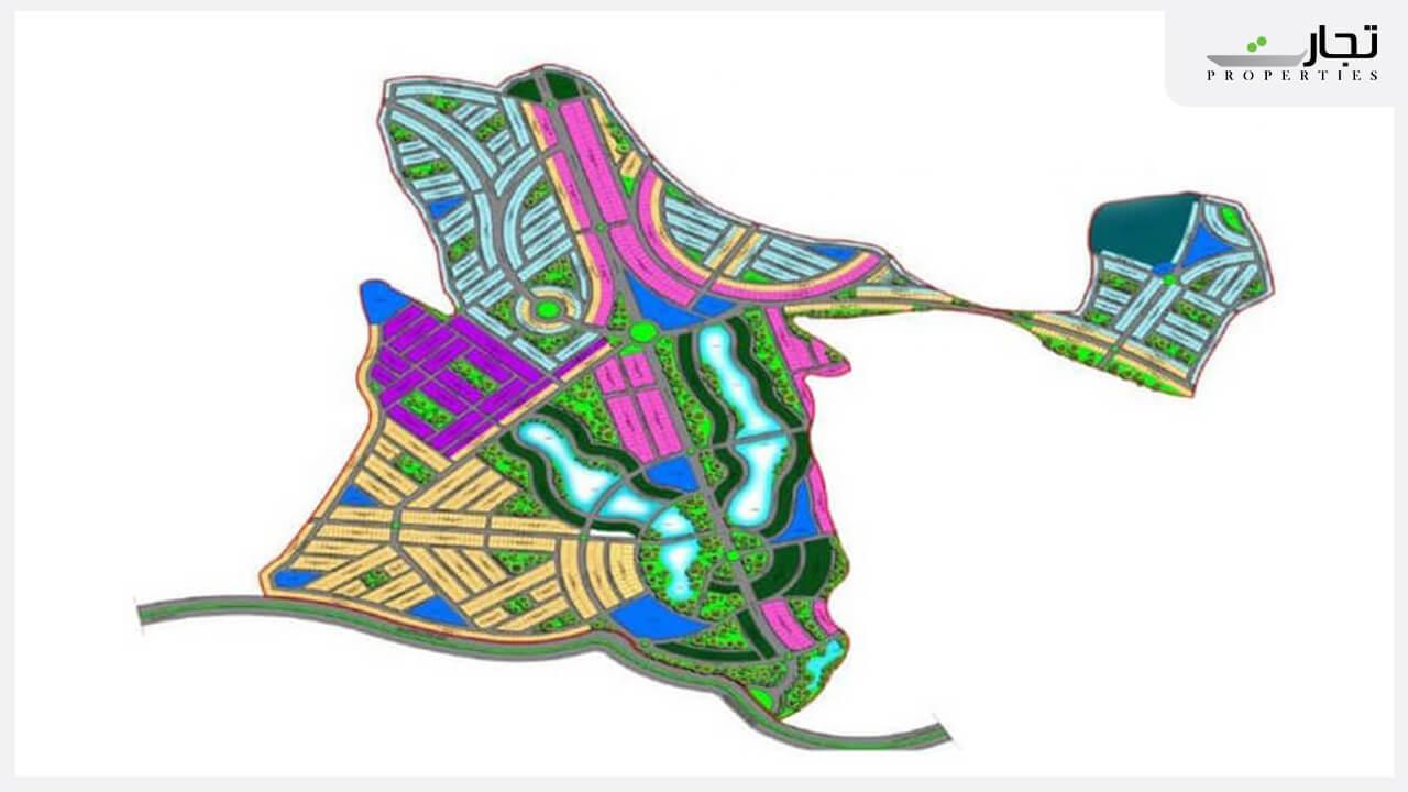 Master Plan of Blue World City