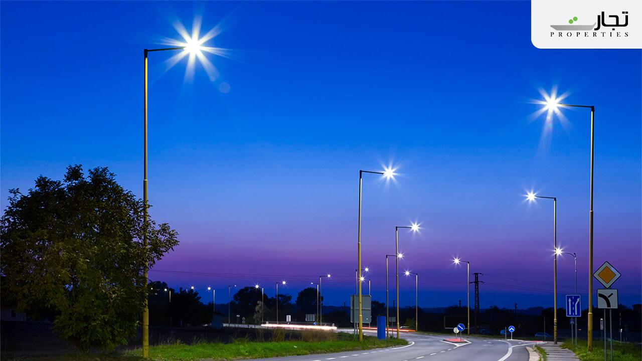 street lights in ICHS Islamabad