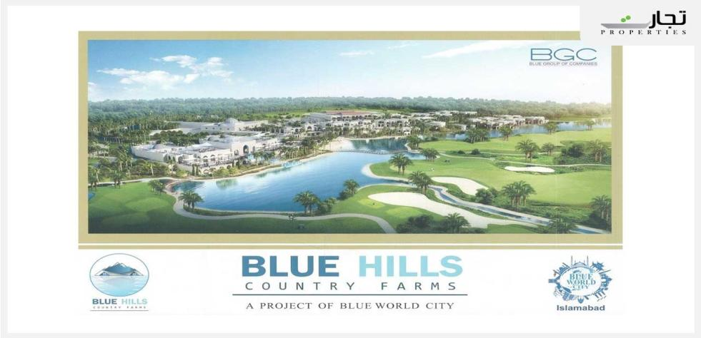 Blue Hills Country Farmhouses in Blue World City Islamabad