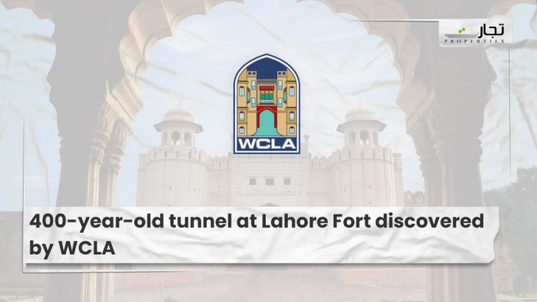 400-year-old tunnel at Lahore Fort discovered by WCLA (1)