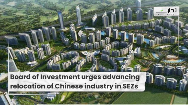 Board of Investment urges advancing relocation of Chinese industry in SEZs