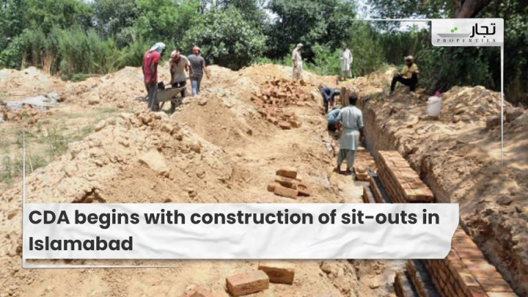 CDA begins with construction of sit-outs in Islamabad