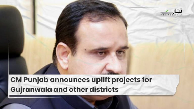 CM Punjab announces uplift projects for Gujranwala and other districts