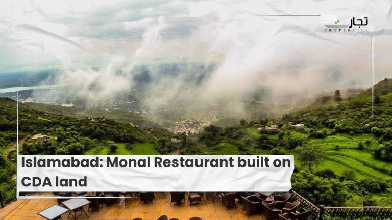 Islamabad Monal Restaurant built on CDA land