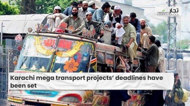 Karachi mega transport projects' deadlines have been set