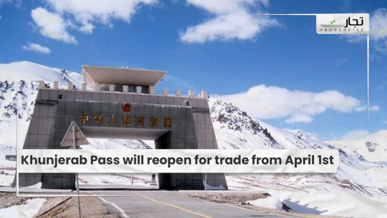 Khunjerab Pass will reopen for trade from April 1st