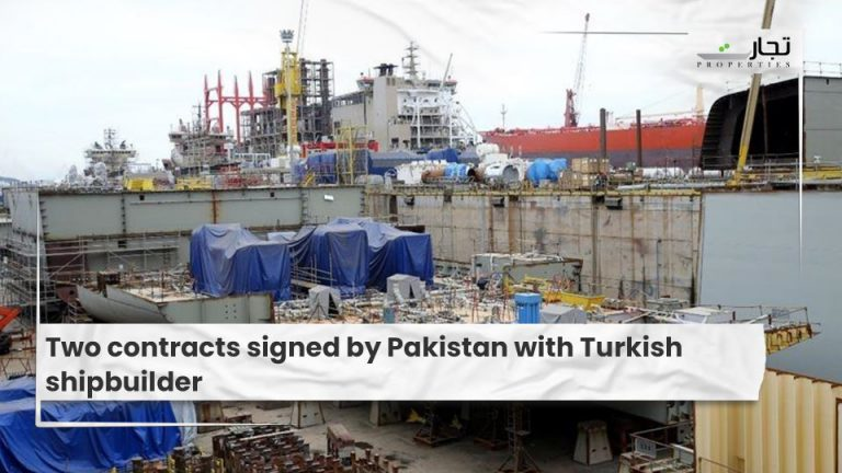 Two contracts signed by Pakistan with Turkish shipbuilder