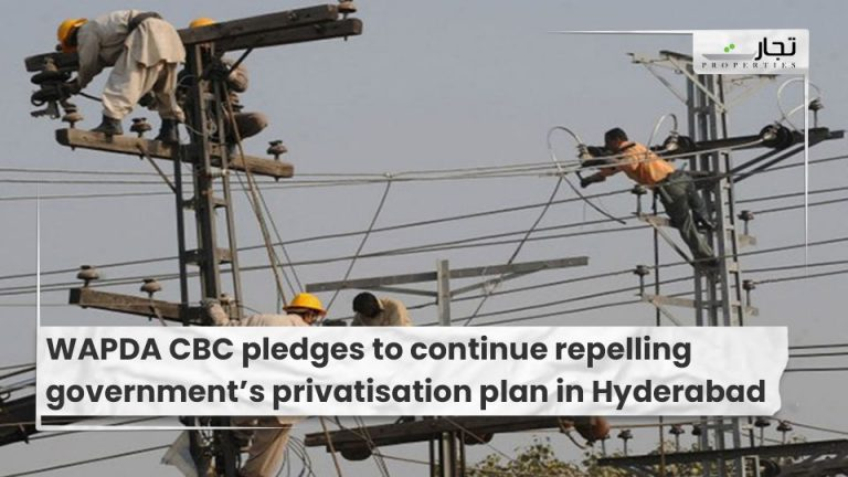 WAPDA CBC pledges to continue repelling government's privatisation plan in Hyderabad
