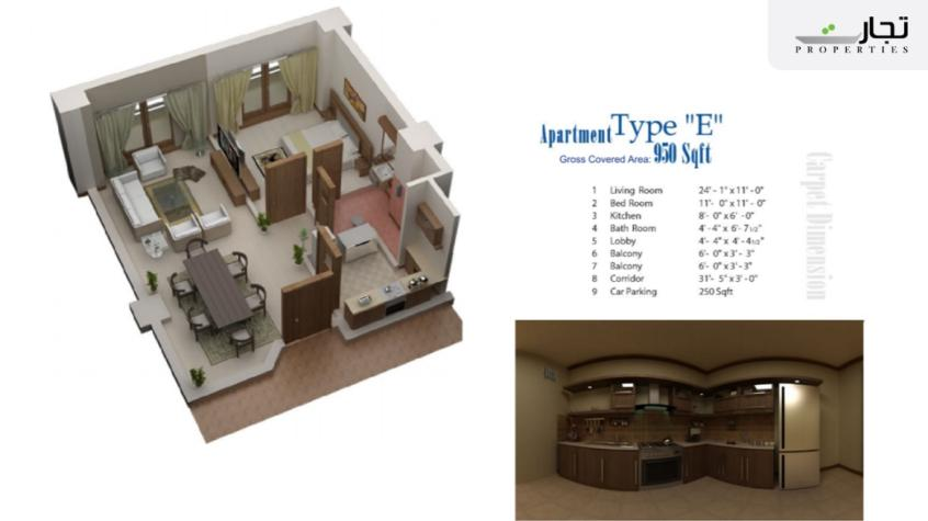 Lifestyle Residency Floorplans for Category E Apartments