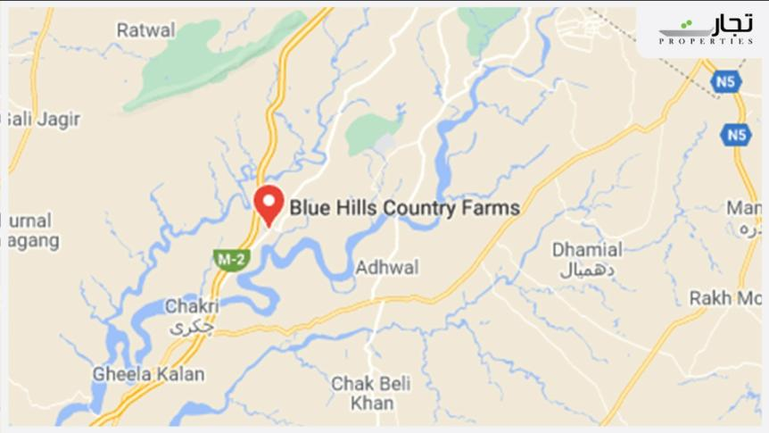 Blue Hills Country Farmhouses location
