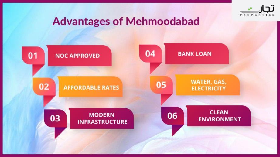 Advantages of Mehmoodabad