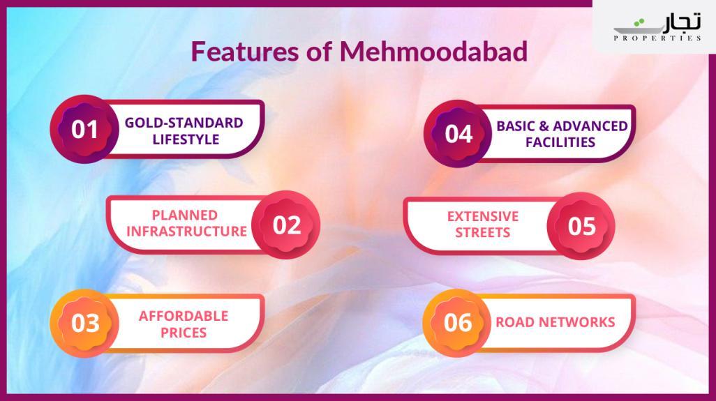 Mehmooabad Faisalabad Salient Features