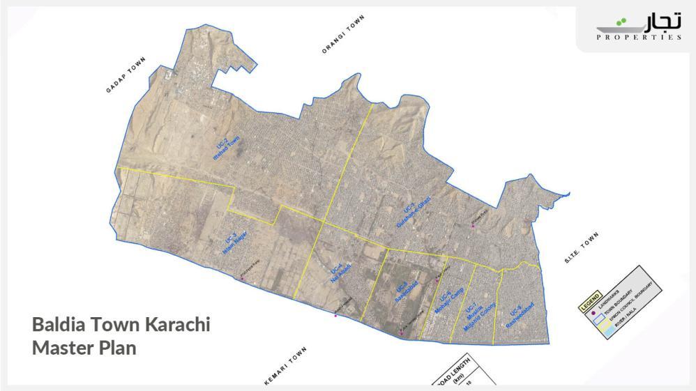 Baldia Town Karachi Master Plan