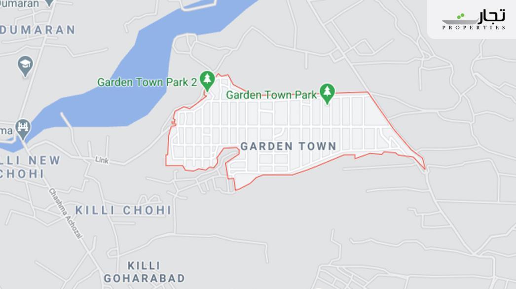 Garden Town Quetta Location