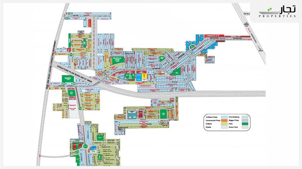 Master Plan Phase 2 Pak Arab Housing Scheme