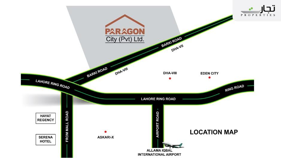 Nearby Landmarks & Places of Paragon City