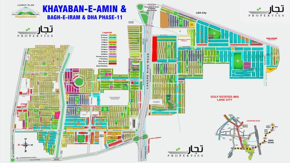 Khayaban-e-Amin Lahore Master Plan