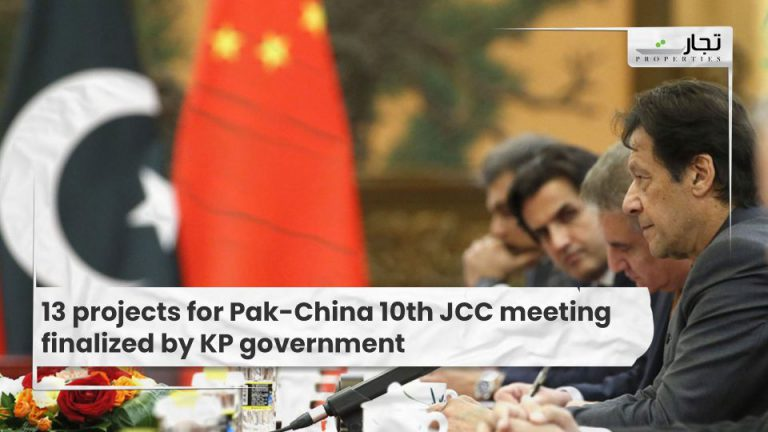 13 projects for Pak-China 10th JCC meeting finalized by KP government