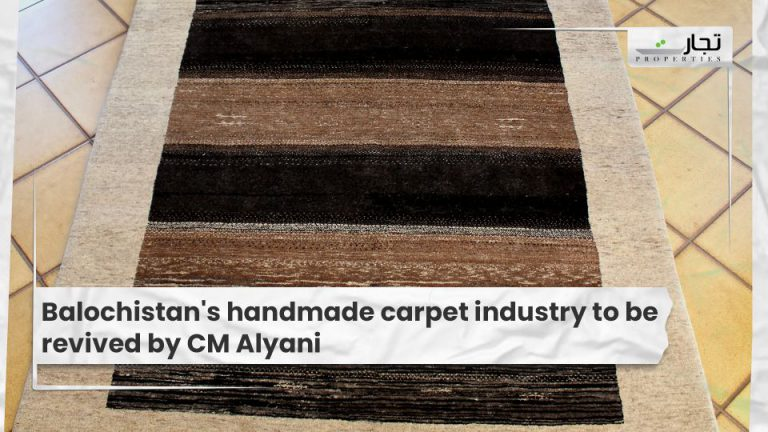 Balochistan's handmade carpet industry to be revived by CM Alyani