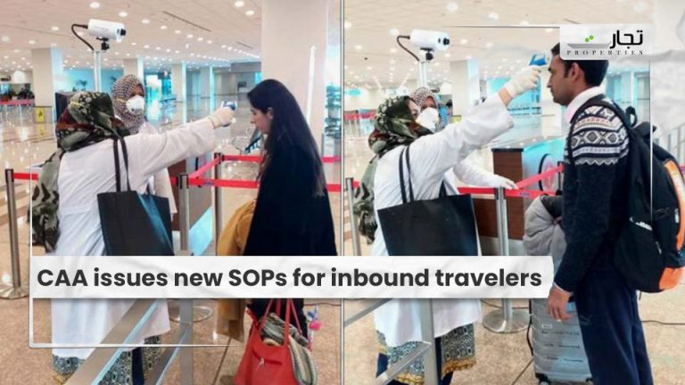 CAA issues new SOPs for inbound travelers