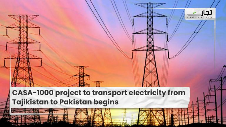 CASA-1000 project to transport electricity from Tajikistan to Pakistan begins