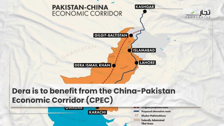 Dera is to benefit from the China-Pakistan Economic Corridor (CPEC)