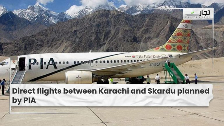 Direct flights between Karachi and Skardu planned by PIA