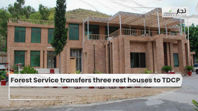 Forest Service transfers three rest houses to TDCP