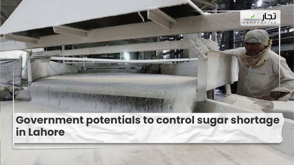 Government potentials to control sugar shortage in Lahore