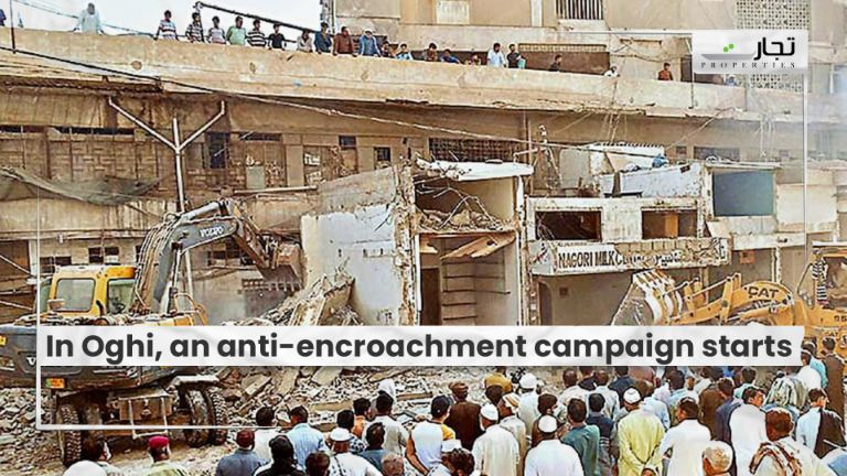 In Oghi, an anti-encroachment campaign starts