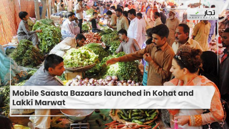 Mobile Saasta Bazaars launched in Kohat and Lakki Marwat