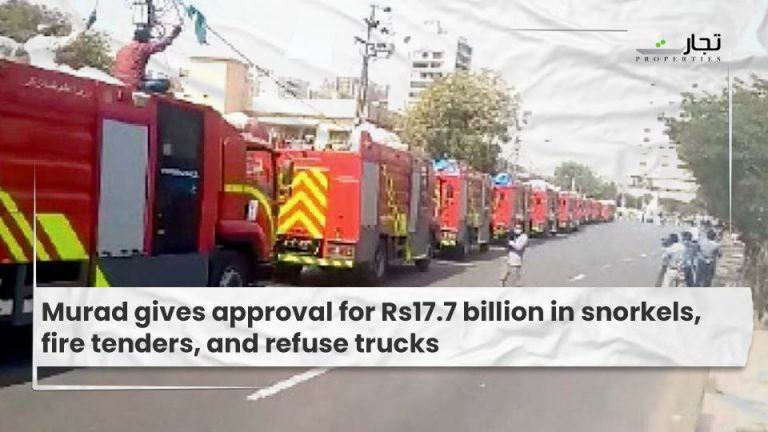 Murad gives approval for Rs17.7 billion in snorkels, fire tenders, and refuse trucks