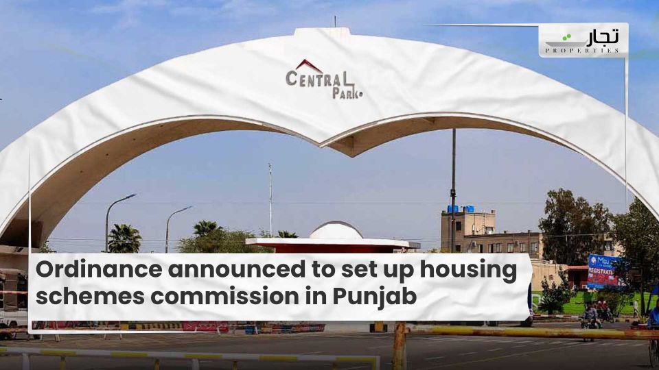 Ordinance announced to set up housing schemes commission in Punjab