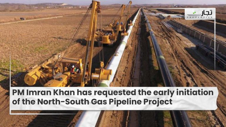 PM Imran Khan has requested the early initiation of the North-South Gas Pipeline Project