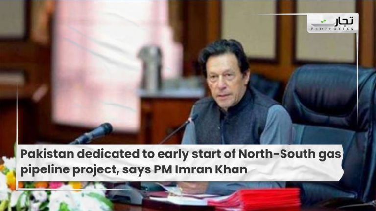Pakistan dedicated to early start of North-South gas pipeline project, says PM Imran Khan