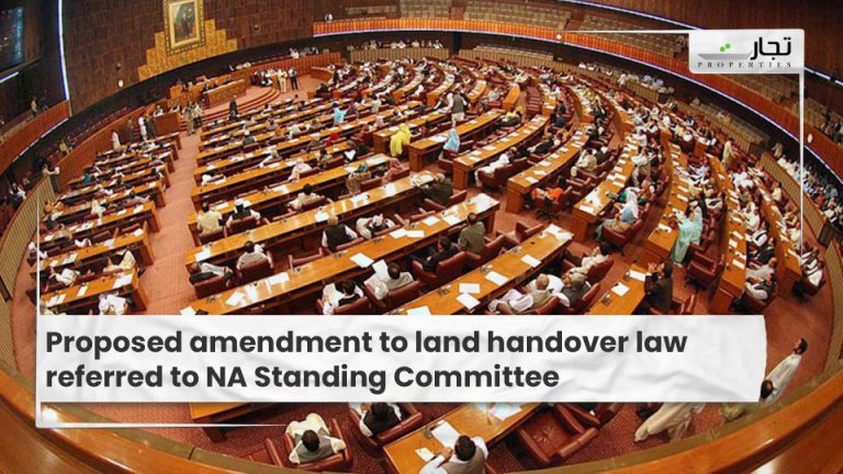 Proposed amendment to land handover law referred to NA Standing Committee
