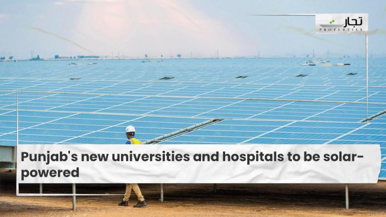 Punjab's new universities and hospitals to be solar-powered