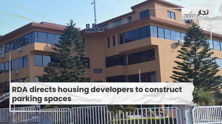 RDA directs housing developers to construct parking spaces