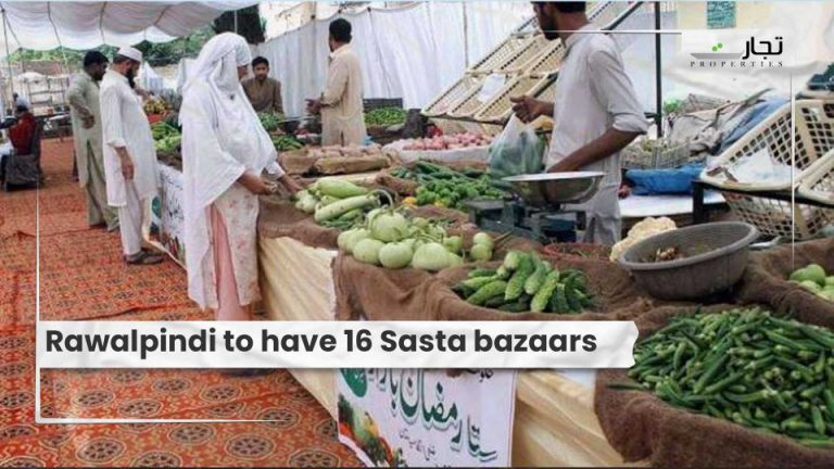 Rawalpindi to have 16 Sasta bazaars
