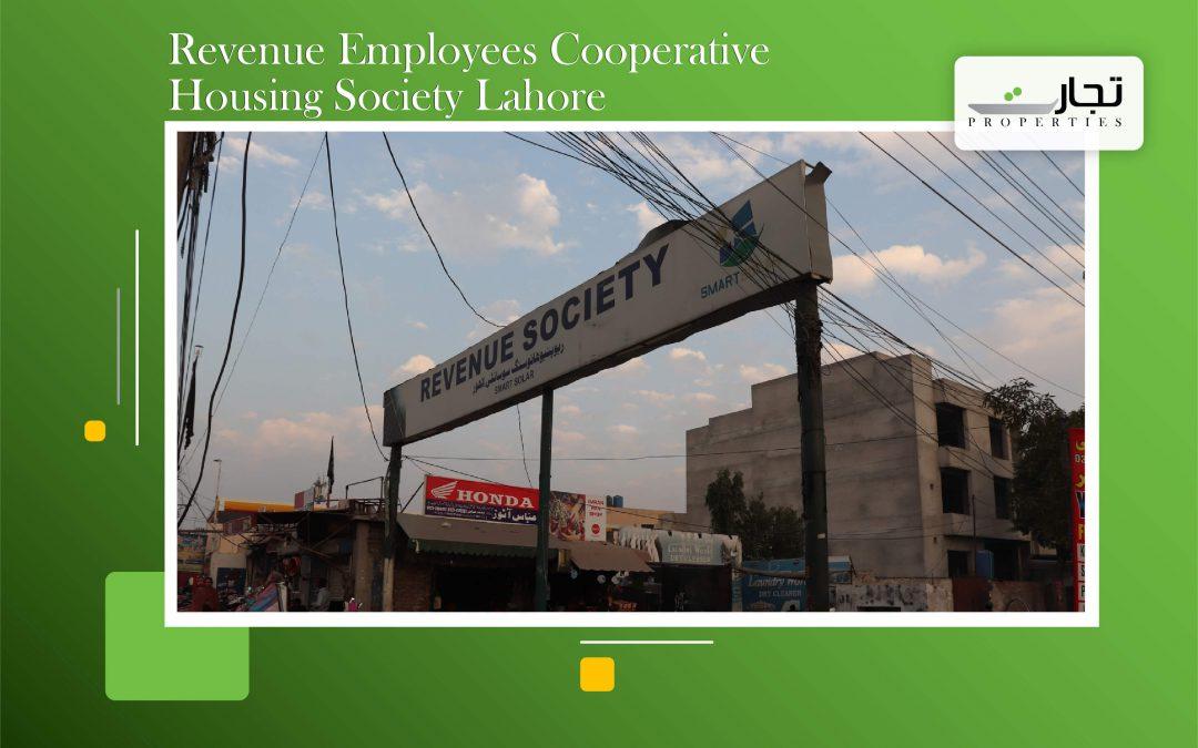 Revenue Employees Cooperative Housing Society Lahore