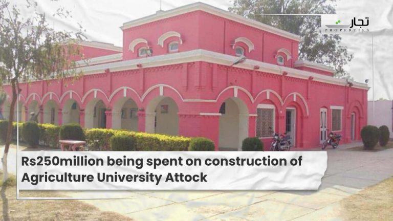 Rs250million being spent on construction of Agriculture University Attock