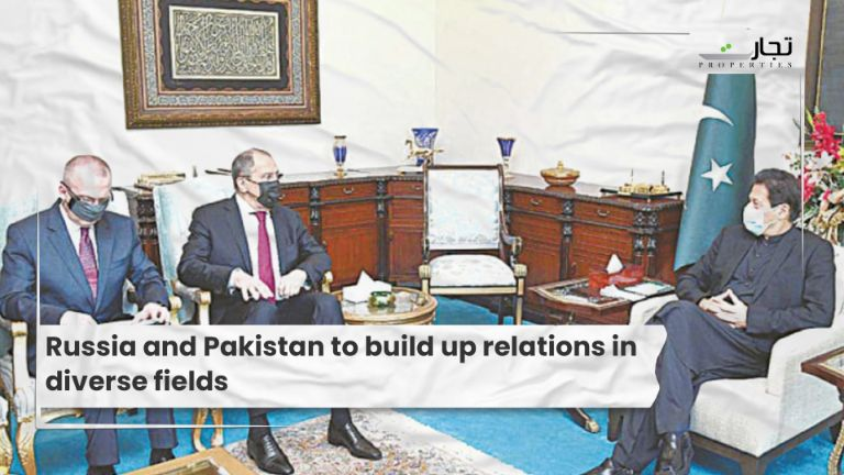 Russia and Pakistan to build up relations in diverse fields