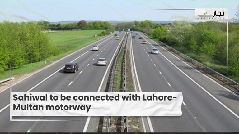 Sahiwal to be connected with Lahore-Multan motorway