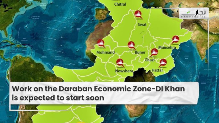 Work on the Daraban Economic Zone-DI Khan is expected to start soon