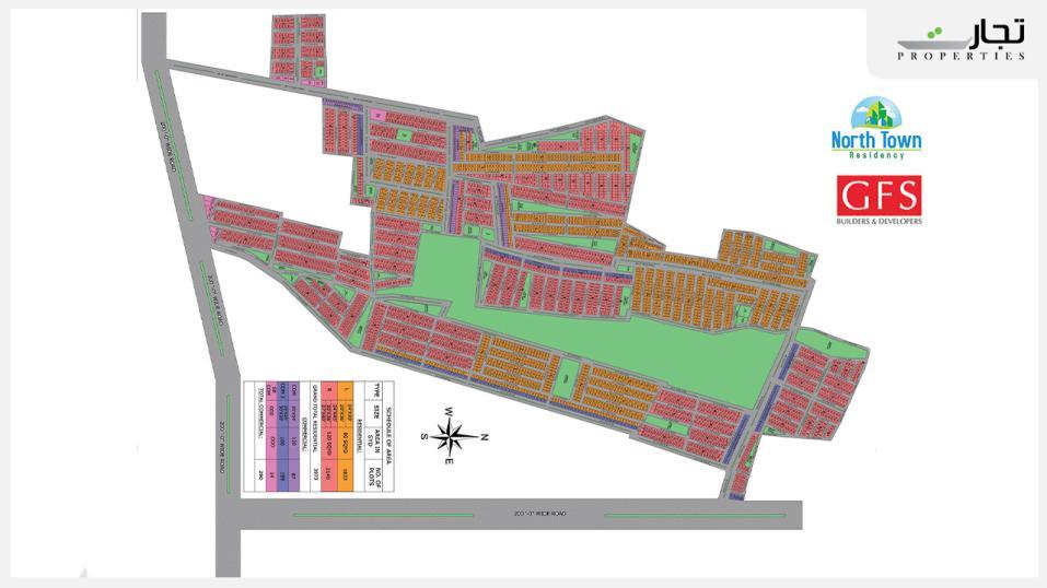 North Town Residency Master Plan