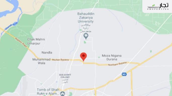 Model Town Multan Location