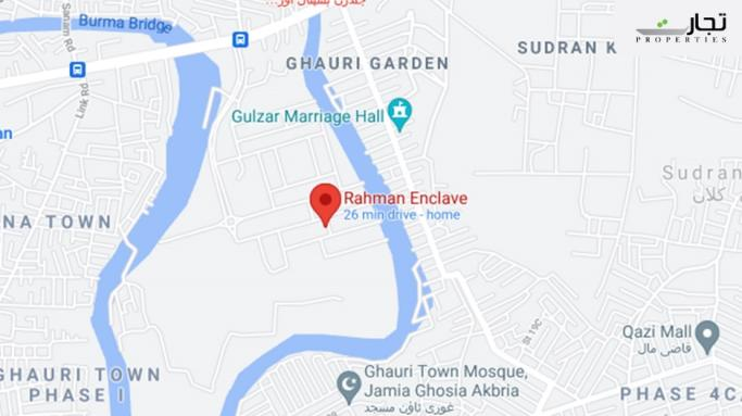 Rahman Enclave Location